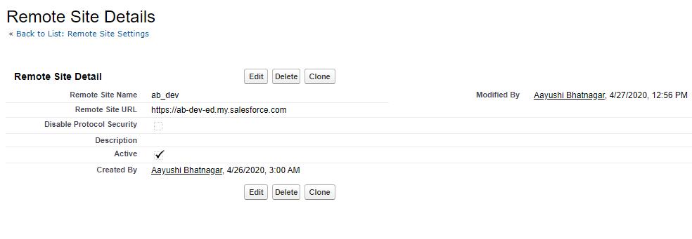 Salesforce Integration Using Rest API Callouts